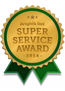 Angie's List, 2014 Angie's List Super Service Award