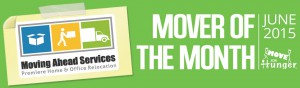 Mover of the Month, Moving Ahead Named Mover of the Month!