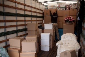 Corporate relocation storage