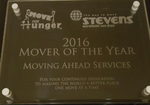 Move For Hunger Mover of the Year, Move For Hunger Mover of the Year