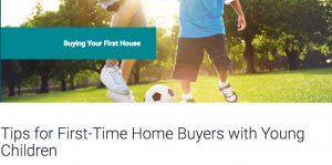 buying a home with kids