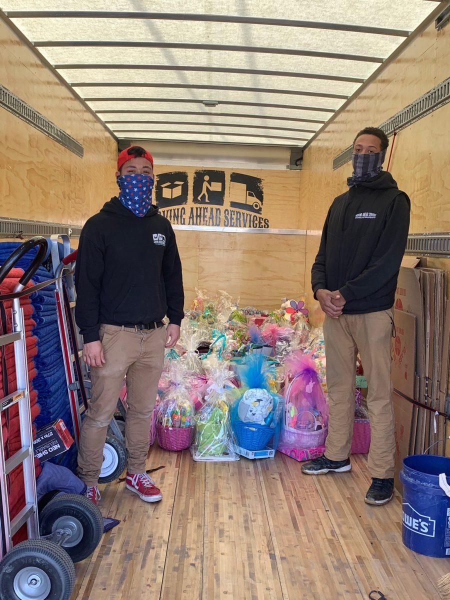 Helping out for Easter!, Helping out for Easter